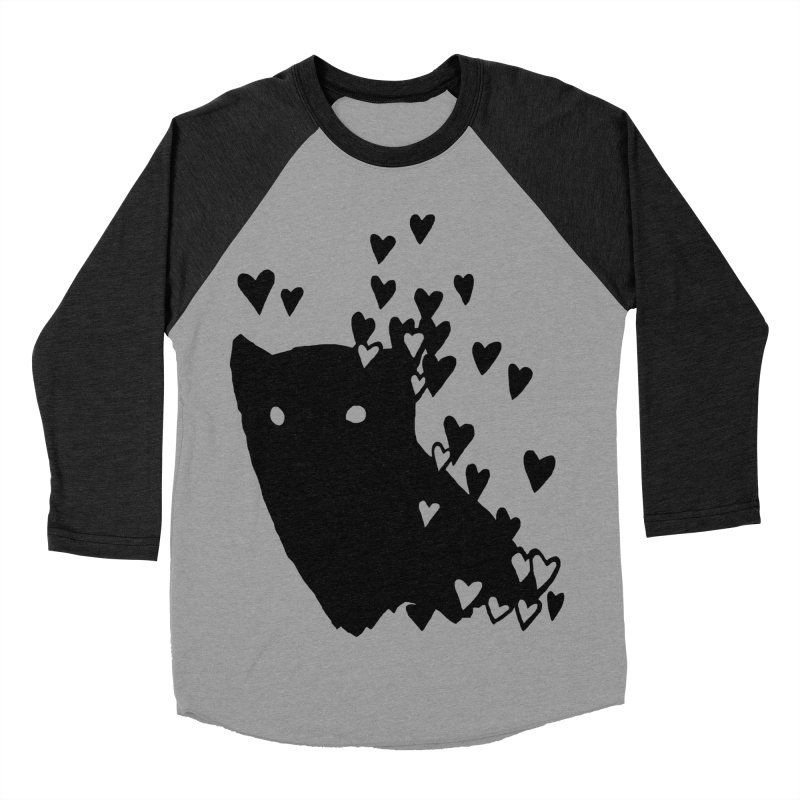 Lovely Women's Baseball Triblend Longsleeve T-Shirt by Fox Shiver's Artist Shop