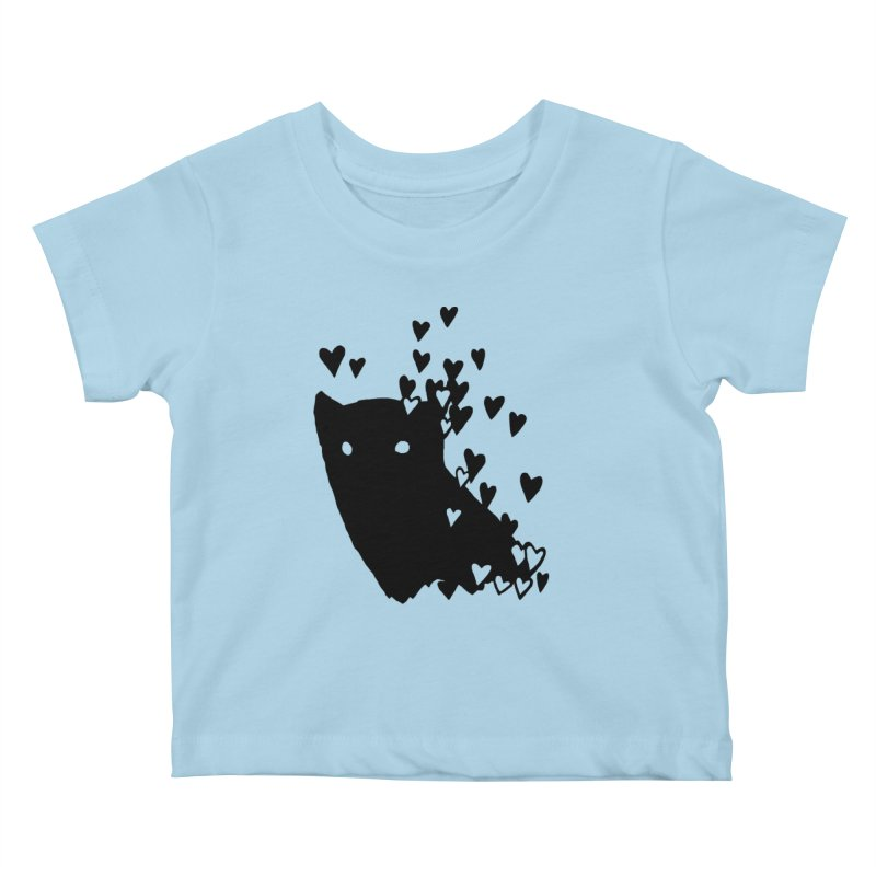 Lovely Kids Baby T-Shirt by Fox Shiver's Artist Shop