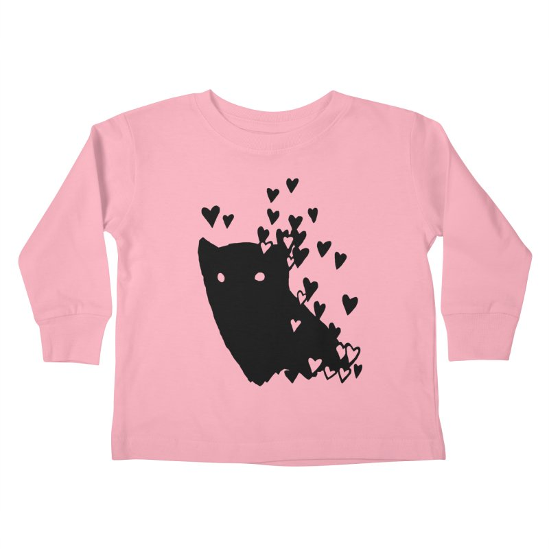 Lovely Kids Toddler Longsleeve T-Shirt by Fox Shiver's Artist Shop