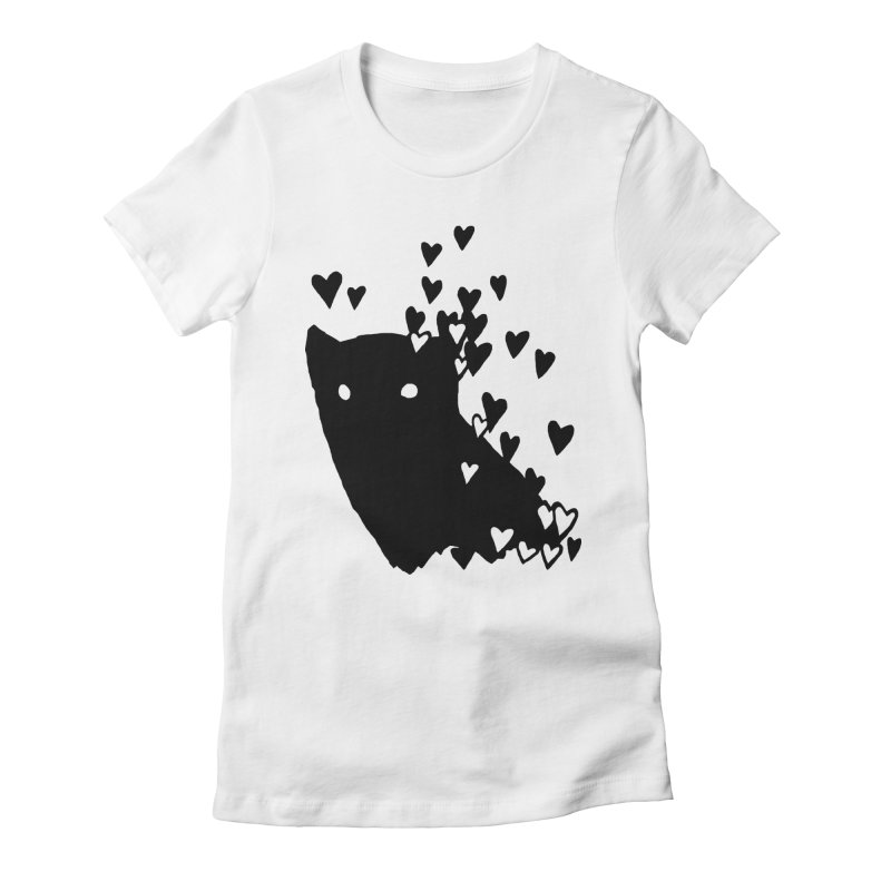 Lovely Women's Fitted T-Shirt by Fox Shiver's Artist Shop