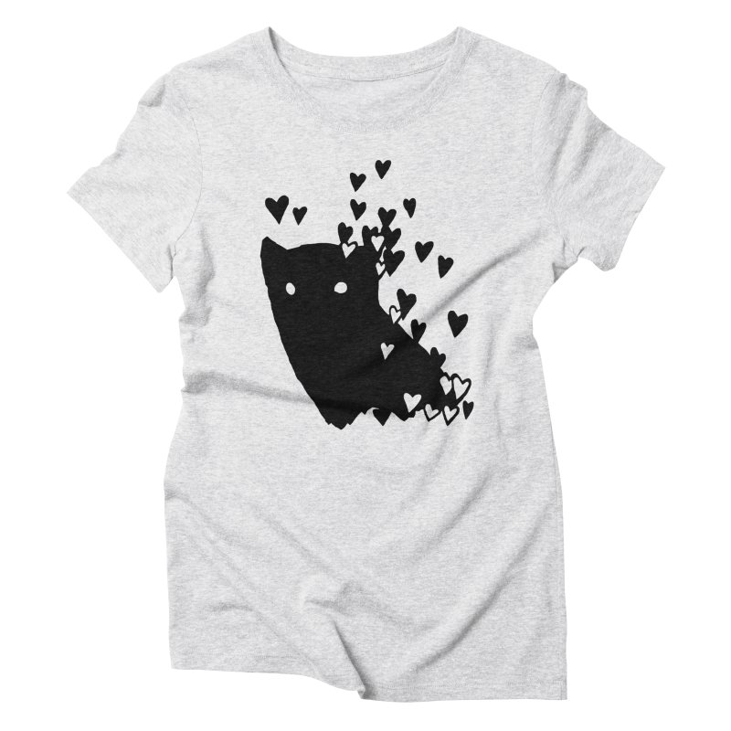 Lovely Women's Triblend T-Shirt by Fox Shiver's Artist Shop