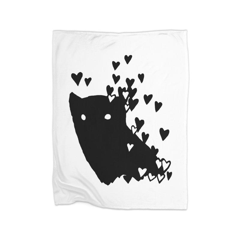 Lovely Home Fleece Blanket Blanket by Fox Shiver's Artist Shop