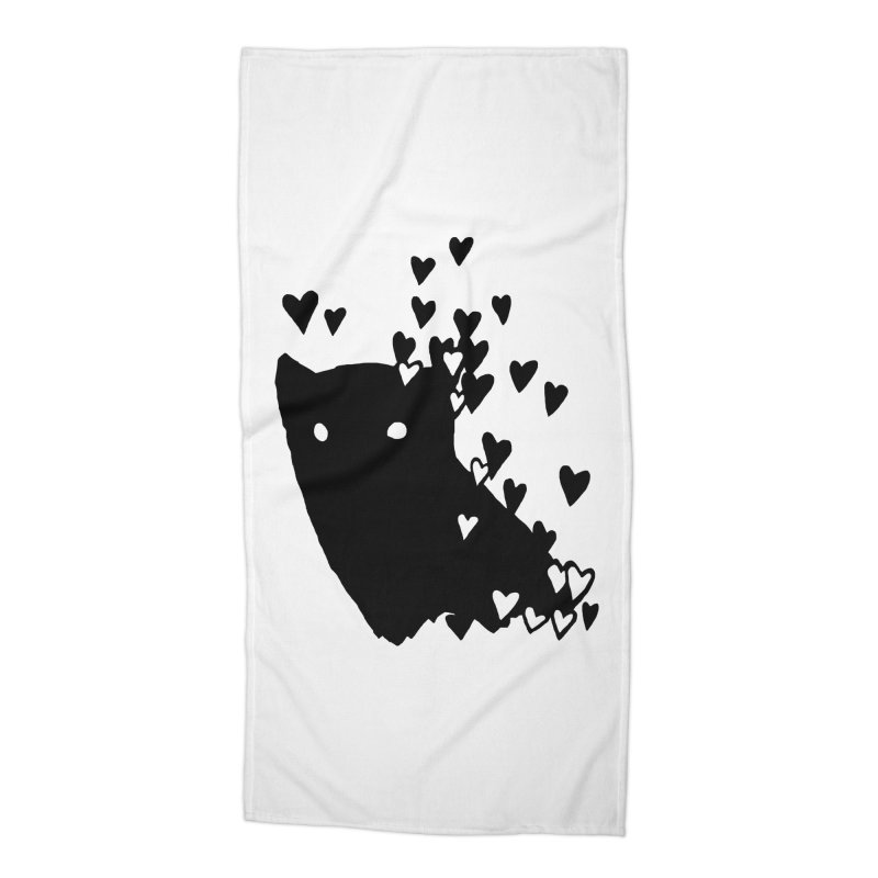 Lovely Accessories Beach Towel by Fox Shiver's Artist Shop