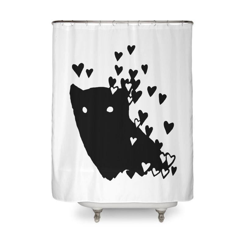 Lovely Home Shower Curtain by Fox Shiver's Artist Shop