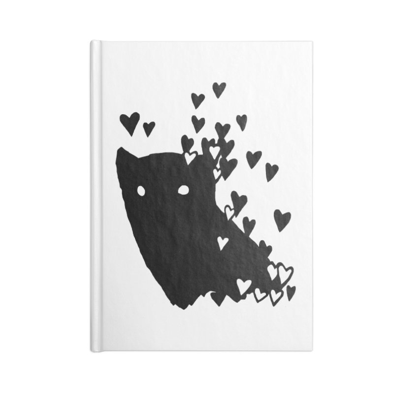 Lovely Accessories Blank Journal Notebook by Fox Shiver's Artist Shop