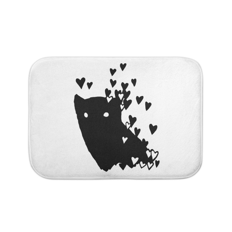 Lovely Home Bath Mat by Fox Shiver's Artist Shop