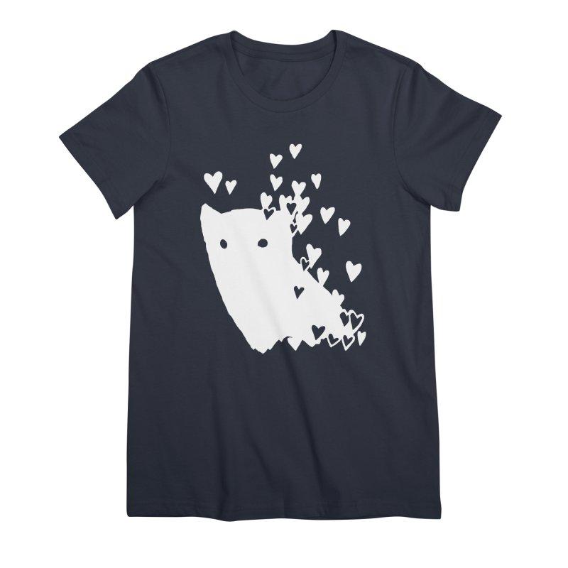 Lovely (Black Variant) Women's Premium T-Shirt by Fox Shiver's Artist Shop