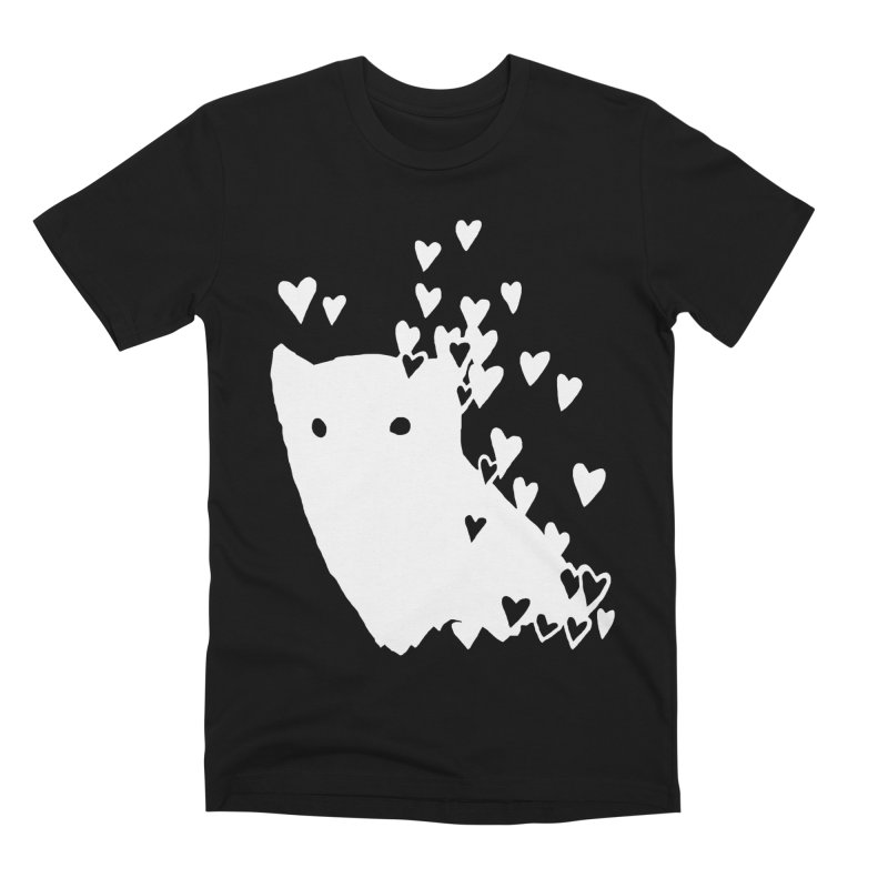 Lovely (Black Variant) Men's Premium T-Shirt by Fox Shiver's Artist Shop