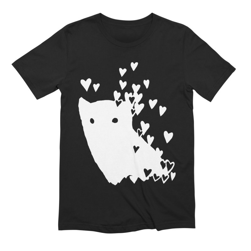 Lovely (Black Variant) Men's Extra Soft T-Shirt by Fox Shiver's Artist Shop