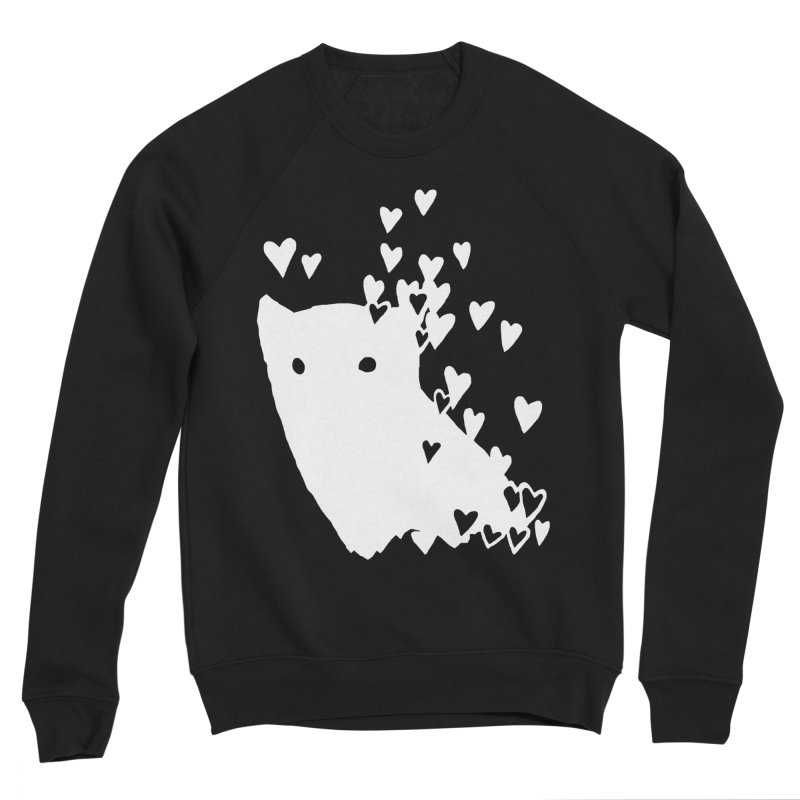 Lovely (Black Variant) Men's Sponge Fleece Sweatshirt by Fox Shiver's Artist Shop
