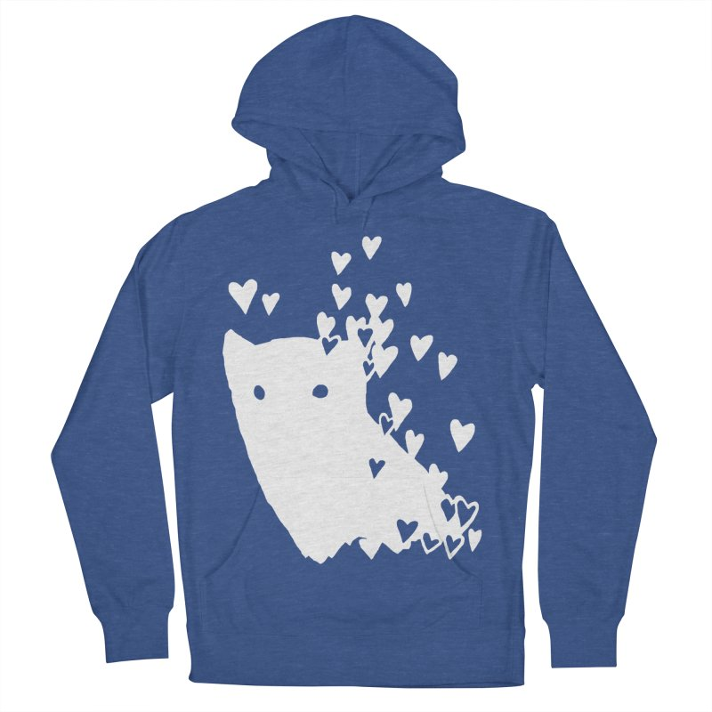 Lovely (Black Variant) Women's French Terry Pullover Hoody by Fox Shiver's Artist Shop