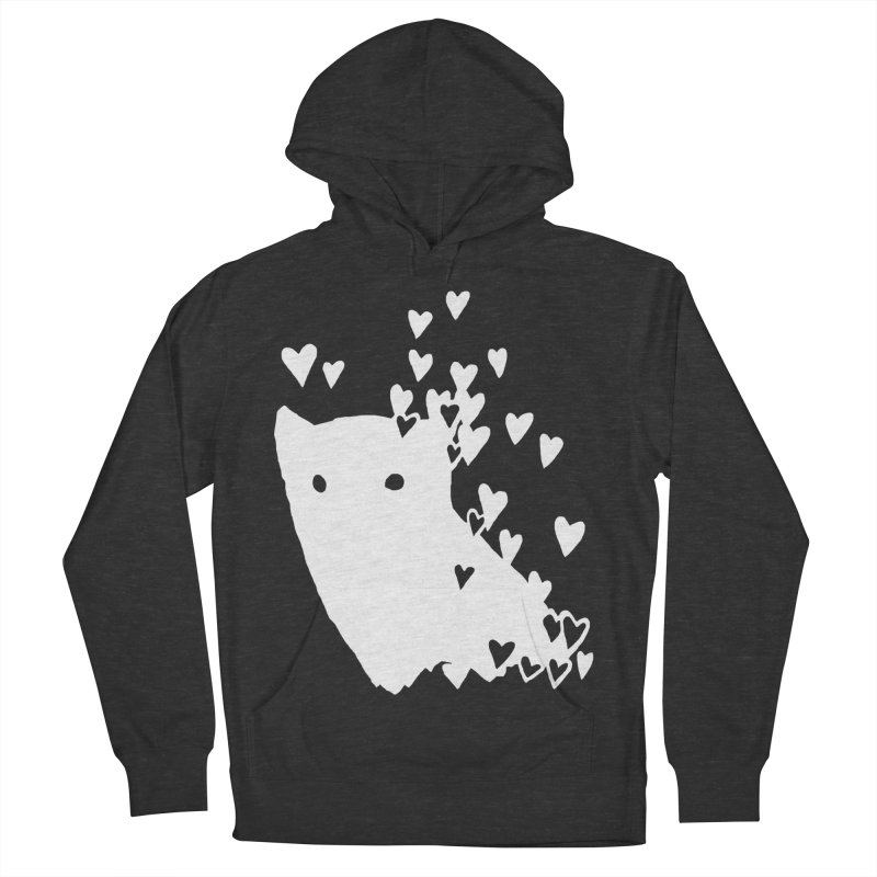 Lovely (Black Variant) Men's French Terry Pullover Hoody by Fox Shiver's Artist Shop