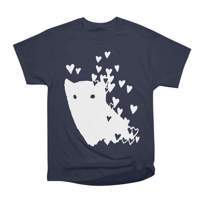 Lovely (Black Variant) Women's Heavyweight Unisex T-Shirt by Fox Shiver's Artist Shop