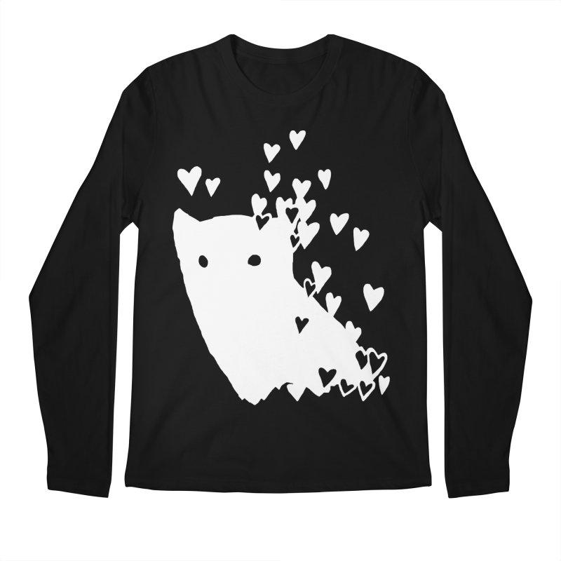 Lovely (Black Variant) Men's Regular Longsleeve T-Shirt by Fox Shiver's Artist Shop
