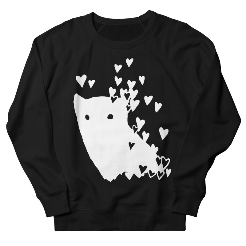 Lovely (Black Variant) Men's French Terry Sweatshirt by Fox Shiver's Artist Shop