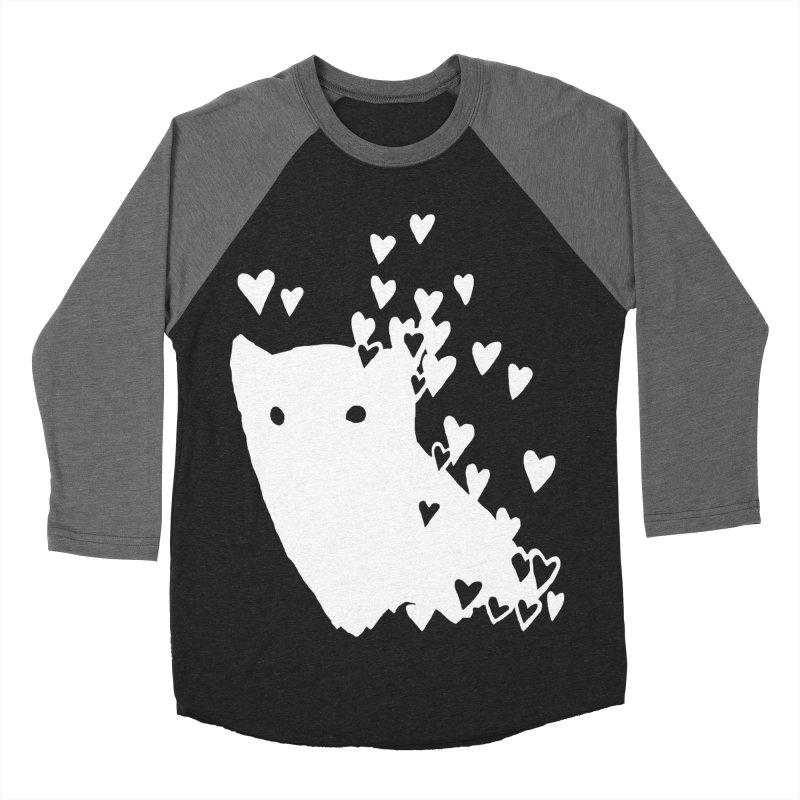 Lovely (Black Variant) Women's Baseball Triblend Longsleeve T-Shirt by Fox Shiver's Artist Shop