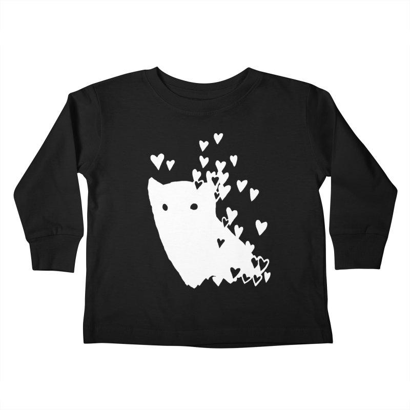 Lovely (Black Variant) Kids Toddler Longsleeve T-Shirt by Fox Shiver's Artist Shop