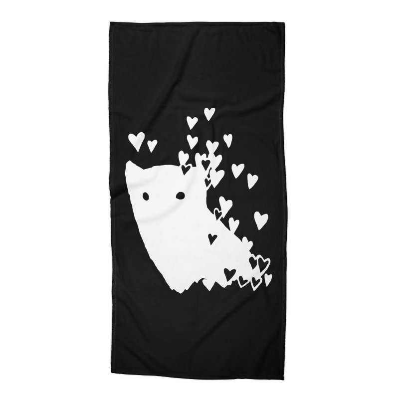 Lovely (Black Variant) Accessories Beach Towel by Fox Shiver's Artist Shop
