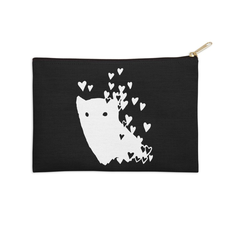 Lovely (Black Variant) Accessories Zip Pouch by Fox Shiver's Artist Shop