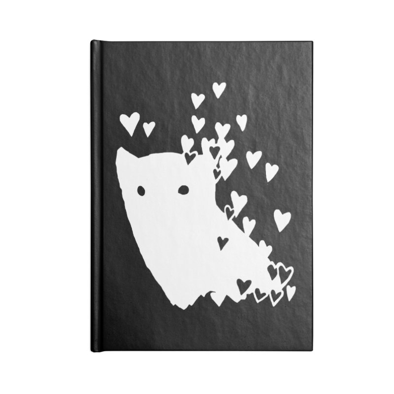 Lovely (Black Variant) Accessories Blank Journal Notebook by Fox Shiver's Artist Shop