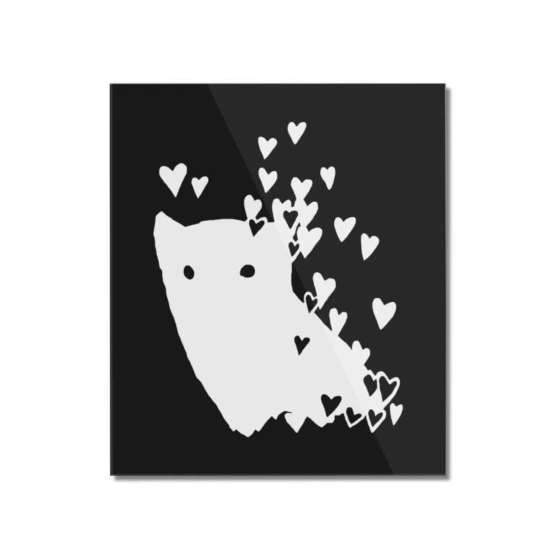 Lovely (Black Variant) Home Mounted Acrylic Print by Fox Shiver's Artist Shop