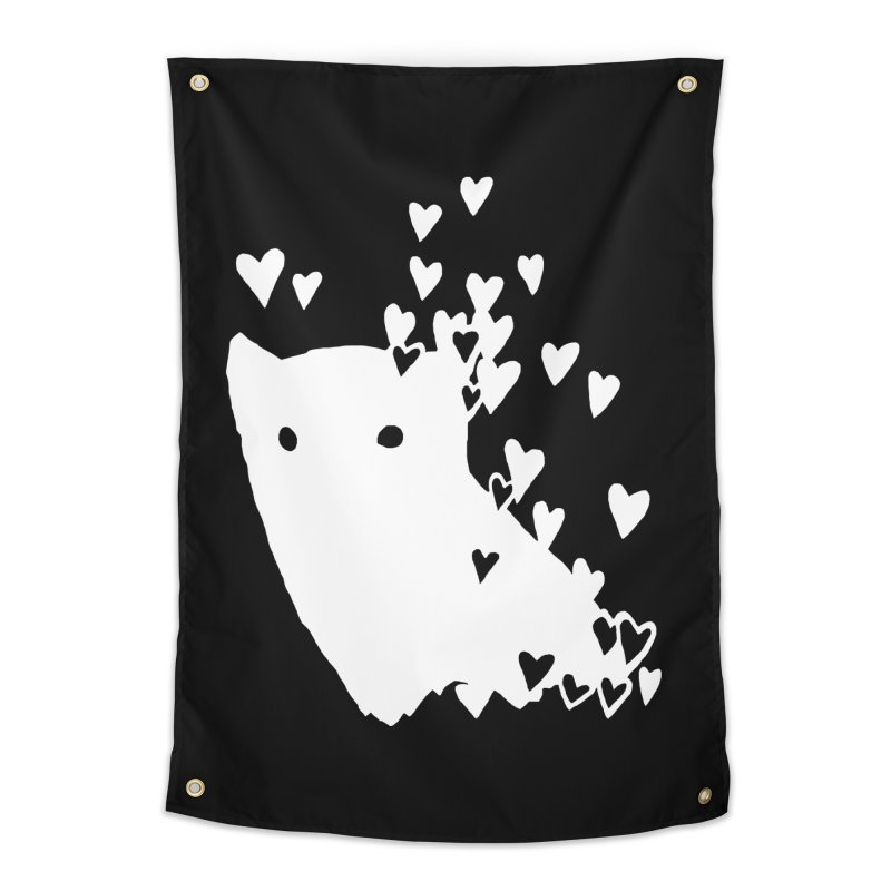 Lovely (Black Variant) Home Tapestry by Fox Shiver's Artist Shop