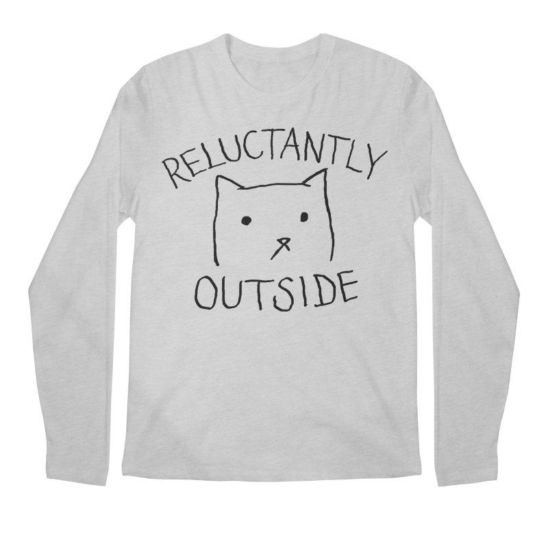 Reluctantly Outside Men's Regular Longsleeve T-Shirt by Fox Shiver's Artist Shop