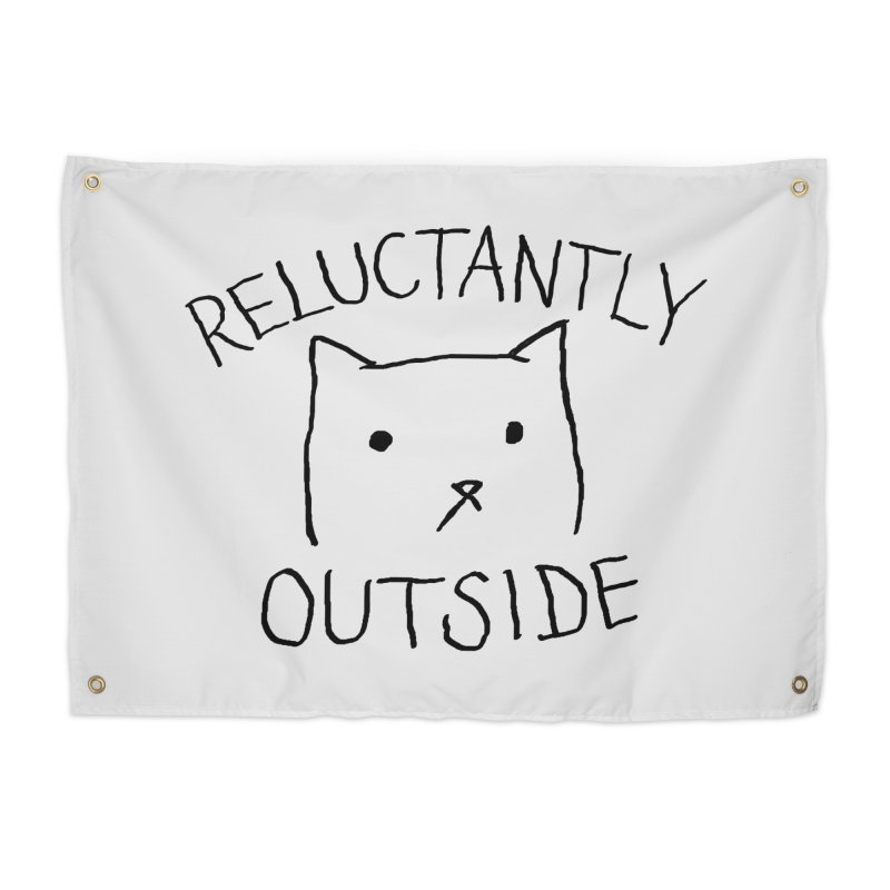 Reluctantly Outside Home Tapestry by Fox Shiver's Artist Shop
