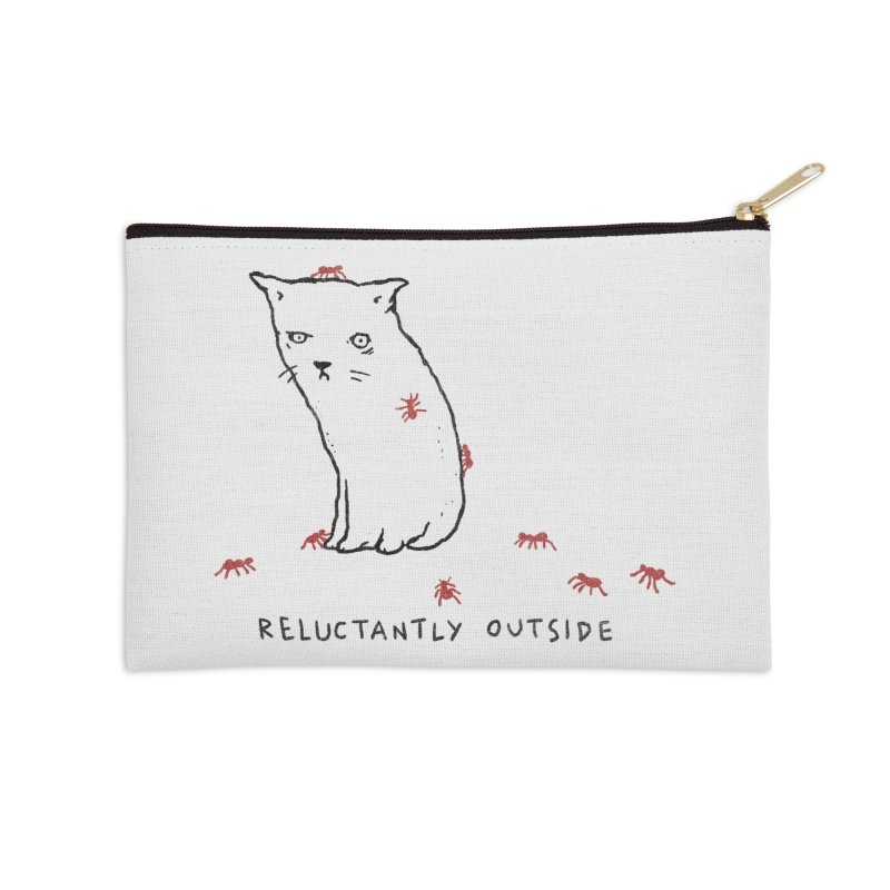 Reluctantly Outside Accessories Zip Pouch by Fox Shiver's Artist Shop