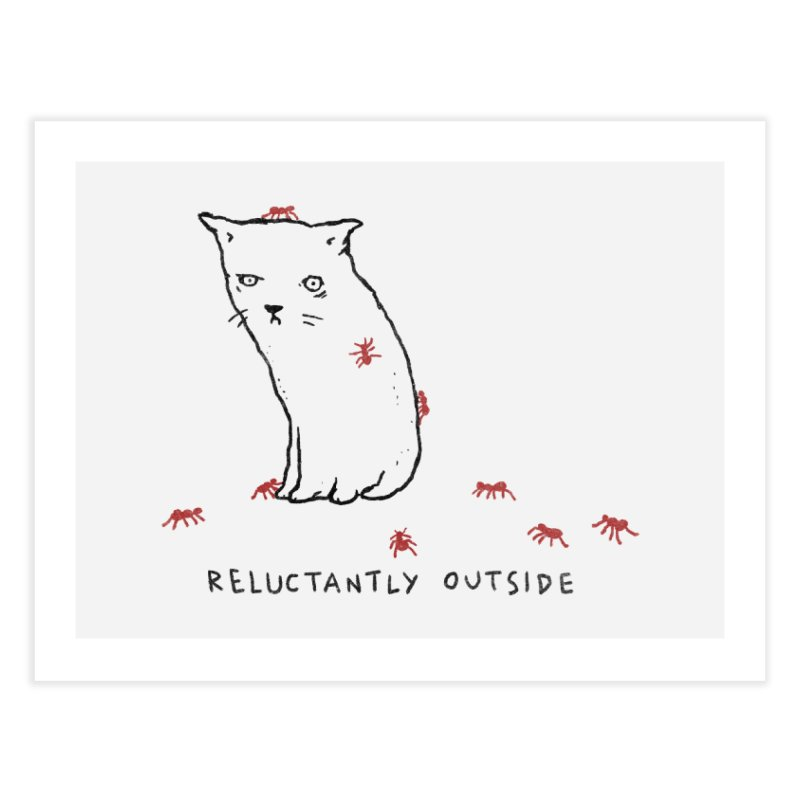 Reluctantly Outside Home Fine Art Print by Fox Shiver's Artist Shop