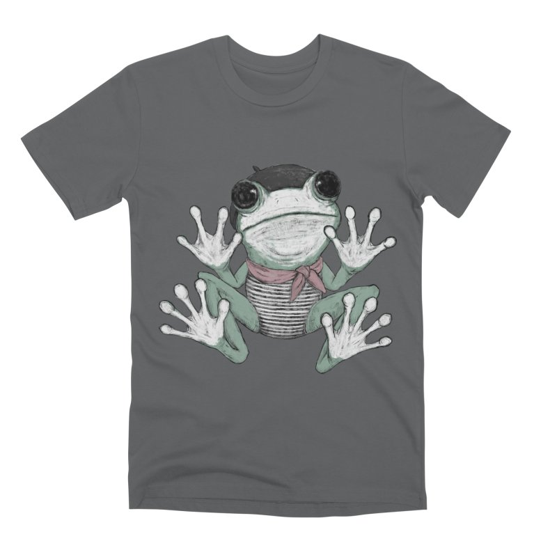 Silent Frog Men's Premium T-Shirt by Fox Shiver's Artist Shop