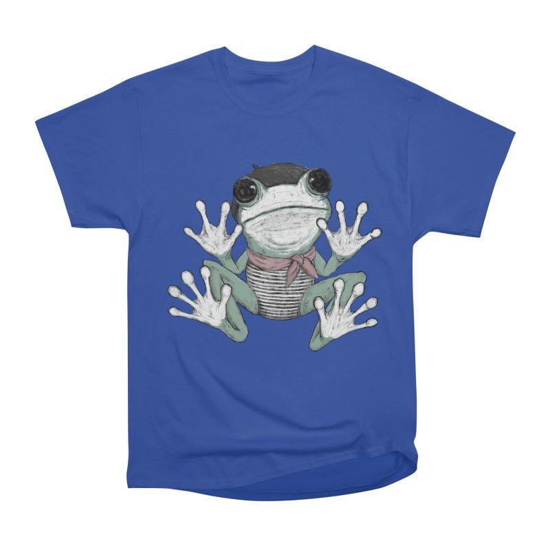 Silent Frog Women's Heavyweight Unisex T-Shirt by Fox Shiver's Artist Shop