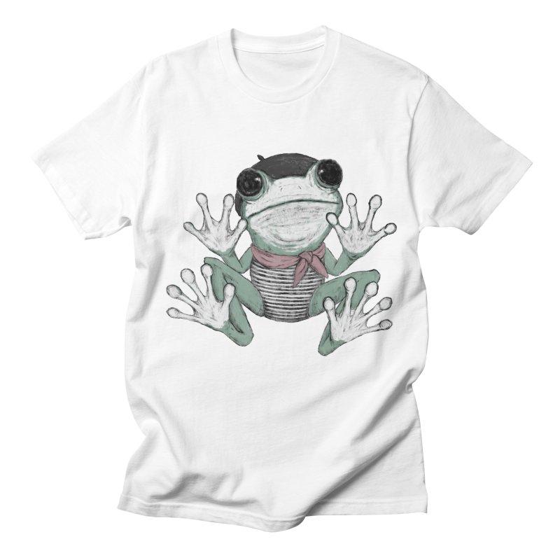 Silent Frog Women's Regular Unisex T-Shirt by Fox Shiver's Artist Shop