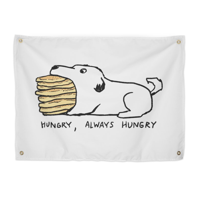 Hungry, Always Hungry Home Tapestry by Fox Shiver's Artist Shop