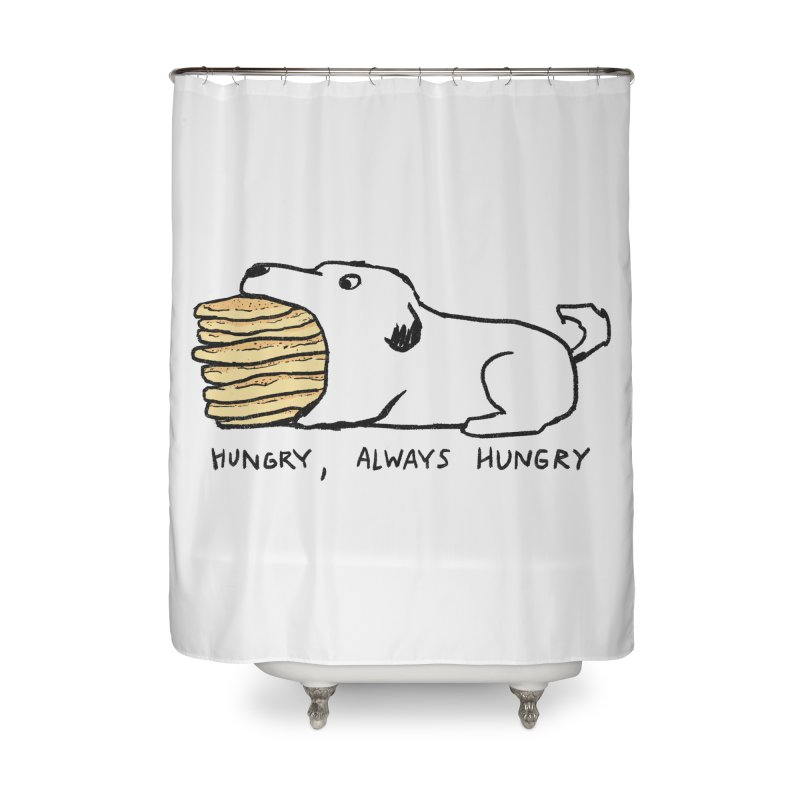 Hungry, Always Hungry Home Shower Curtain by Fox Shiver's Artist Shop