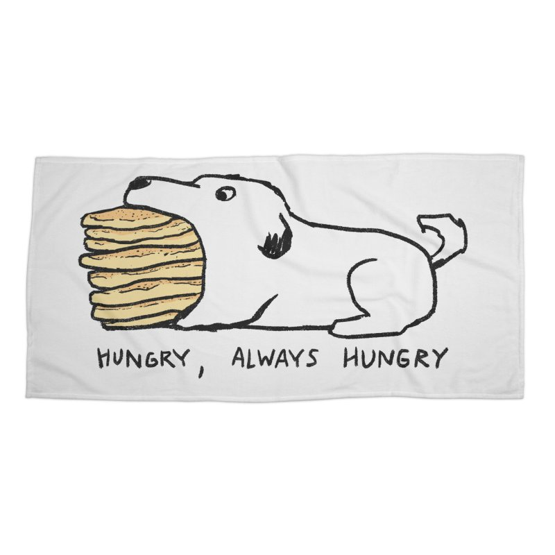 Hungry, Always Hungry Accessories Beach Towel by Fox Shiver's Artist Shop