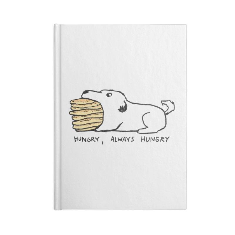 Hungry, Always Hungry Accessories Blank Journal Notebook by Fox Shiver's Artist Shop