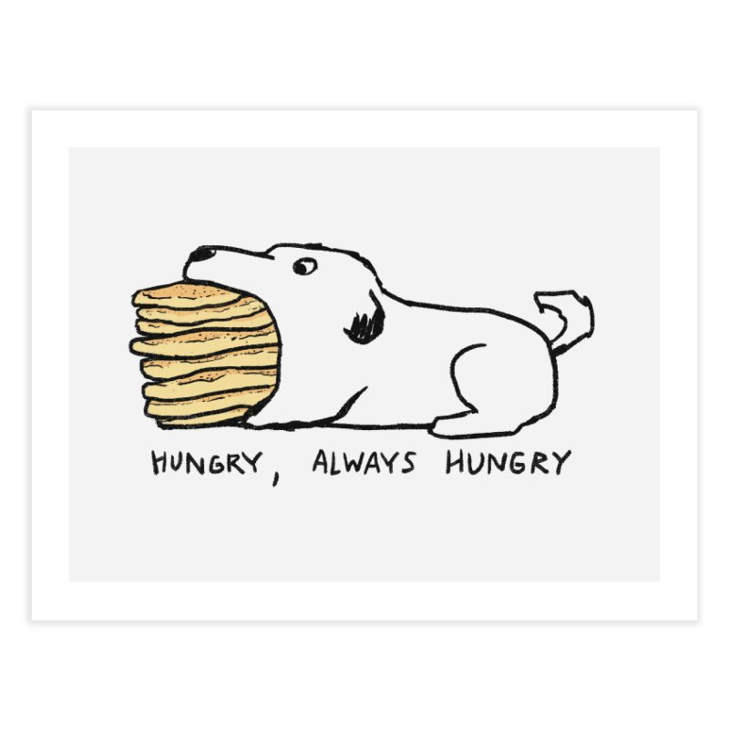 Hungry, Always Hungry Home Fine Art Print by Fox Shiver's Artist Shop