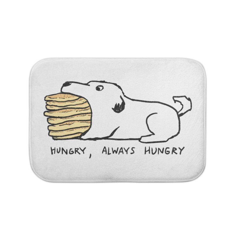 Hungry, Always Hungry Home Bath Mat by Fox Shiver's Artist Shop