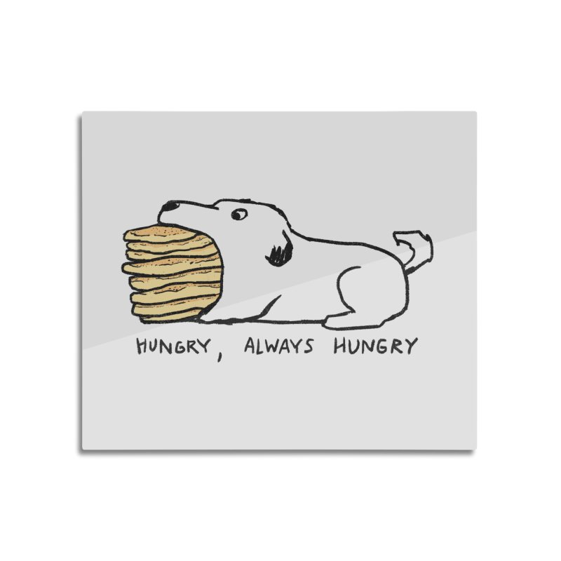 Hungry, Always Hungry Home Mounted Aluminum Print by Fox Shiver's Artist Shop