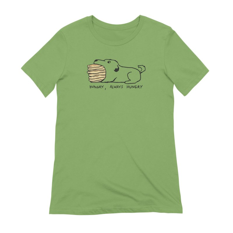 Hungry, Always Hungry Women's Extra Soft T-Shirt by Fox Shiver's Artist Shop