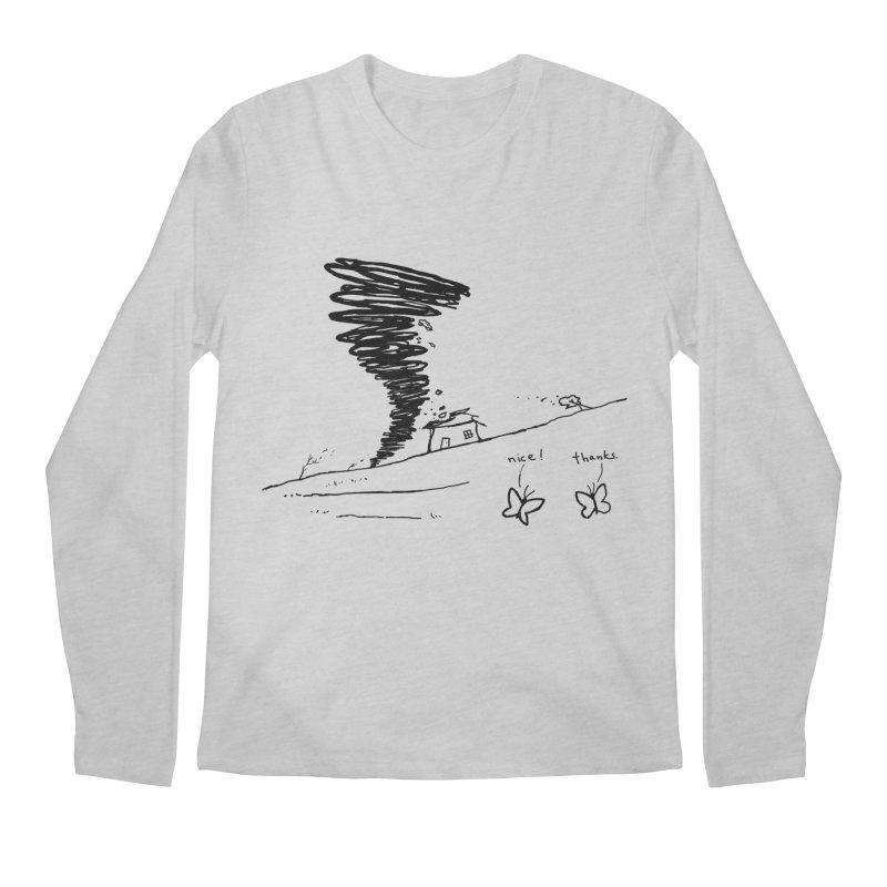 Look What I Did Men's Regular Longsleeve T-Shirt by Fox Shiver's Artist Shop