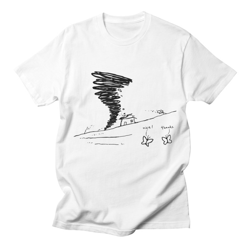Look What I Did Men's Regular T-Shirt by Fox Shiver's Artist Shop