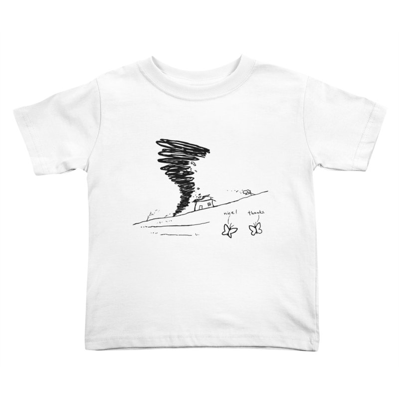 Look What I Did Kids Toddler T-Shirt by Fox Shiver's Artist Shop