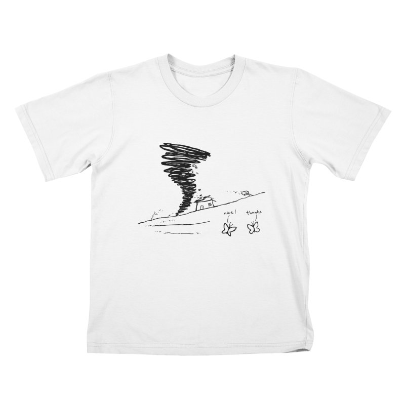 Look What I Did Kids T-Shirt by Fox Shiver's Artist Shop
