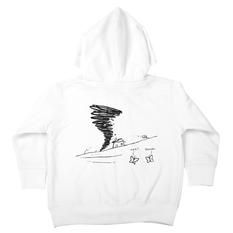Look What I Did Kids Toddler Zip-Up Hoody by Fox Shiver's Artist Shop