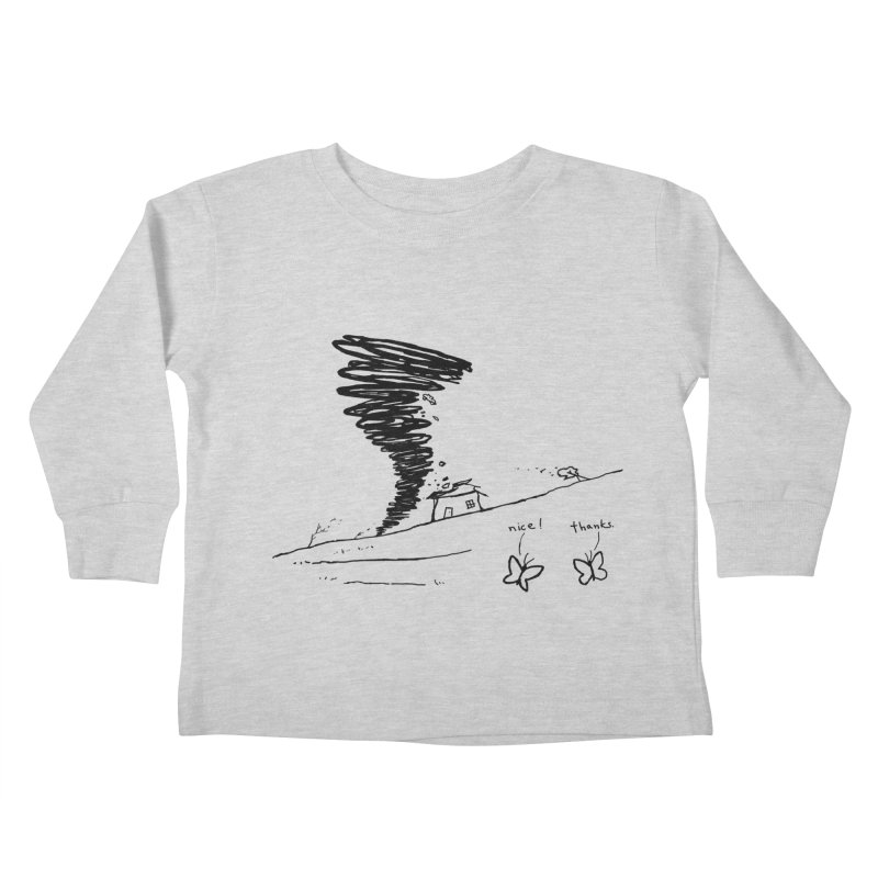 Look What I Did Kids Toddler Longsleeve T-Shirt by Fox Shiver's Artist Shop