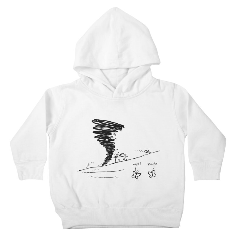 Look What I Did Kids Toddler Pullover Hoody by Fox Shiver's Artist Shop