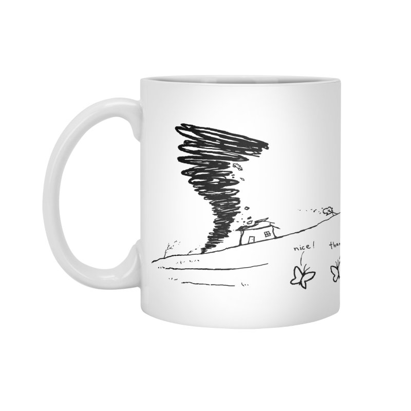 Look What I Did Accessories Standard Mug by Fox Shiver's Artist Shop