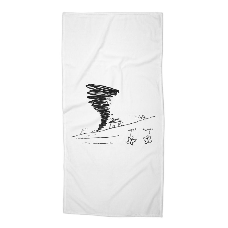 Look What I Did Accessories Beach Towel by Fox Shiver's Artist Shop